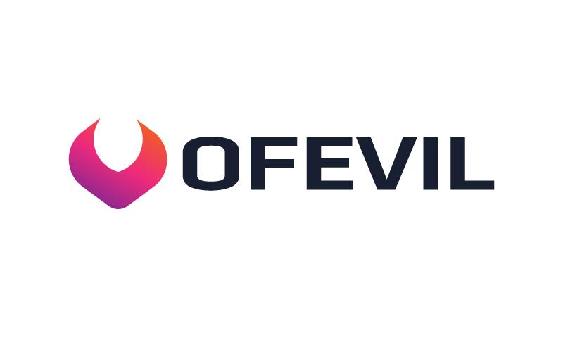 Ofevil - Technology startup name for sale