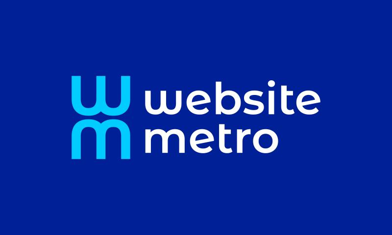 Websitemetro - Design business name for sale