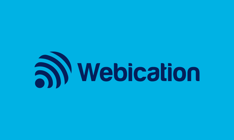 Webication logo