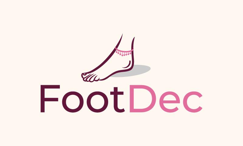 Footdec - Technology domain name for sale