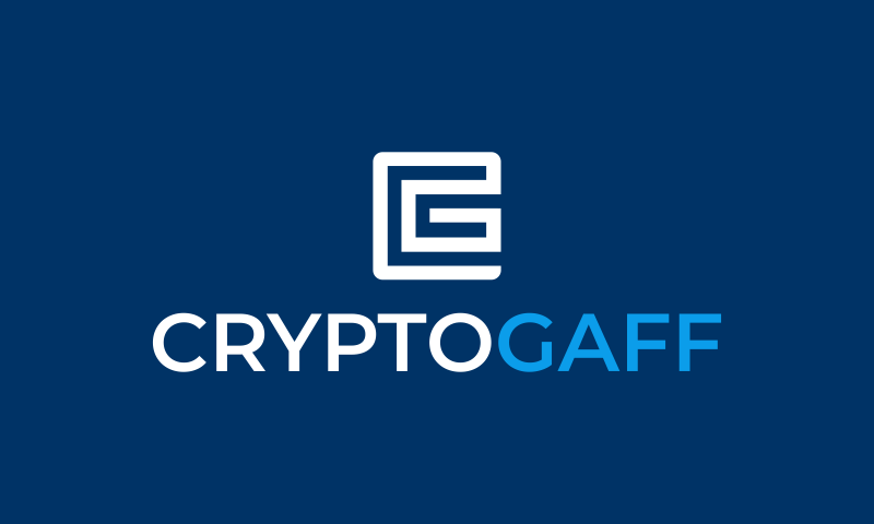 Cryptogaff - Cryptocurrency business name for sale