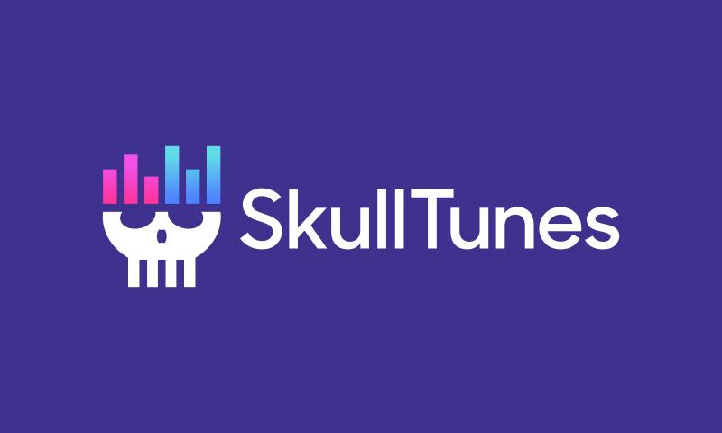 Skulltunes - Media product name for sale
