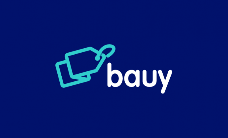 Bauy - Sales promotion startup name for sale