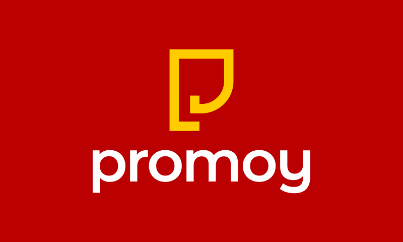 Promoy - Marketing startup name for sale