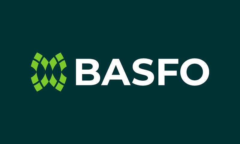Basfo - Marketing business name for sale