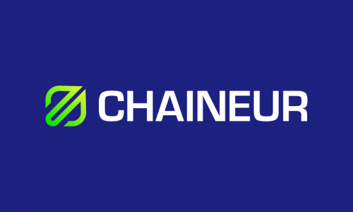 Chaineur - Cryptocurrency startup name for sale