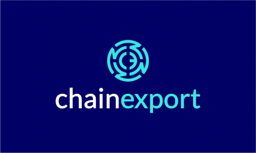 Chainexport - Cryptocurrency company name for sale