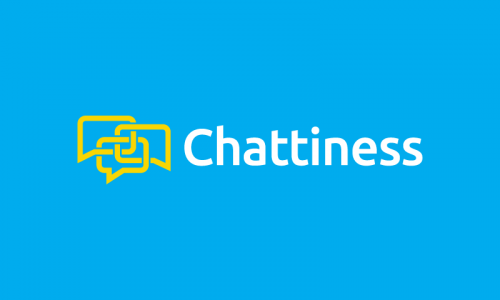 Chattiness - Chat domain name for sale