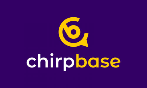 Chirpbase - Business brand name for sale