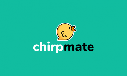 Chirpmate - Social brand name for sale