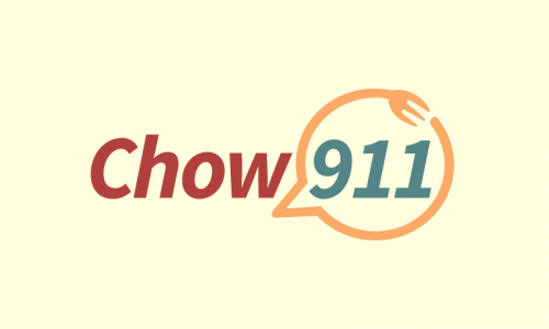 Chow911 - Dining startup name for sale