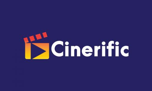 Cinerific - Contemporary domain name for sale