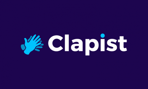 Clapist - E-commerce company name for sale