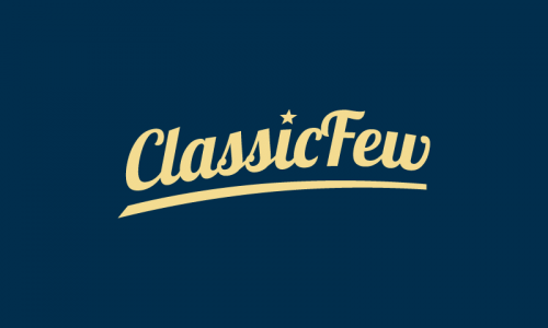 Classicfew - E-commerce company name for sale