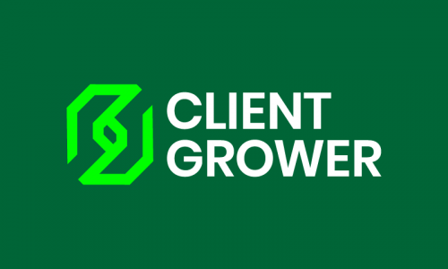 Clientgrower - Marketing brand name for sale