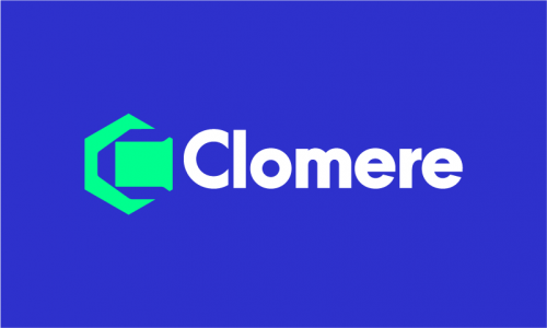 Clomere - Media domain name for sale