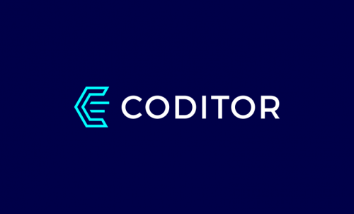 Coditor - Programming brand name for sale
