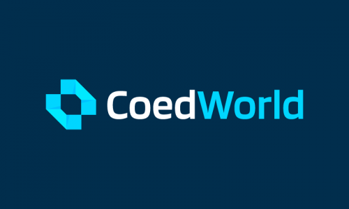 Coedworld - E-commerce company name for sale