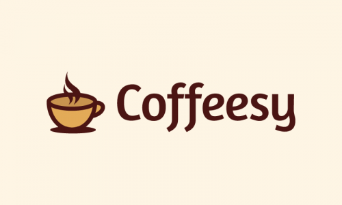 Coffeesy - Food and drink company name for sale