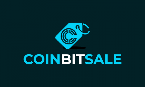 Coinbitsale - Cryptocurrency company name for sale