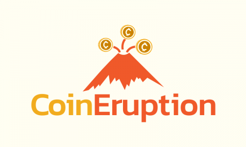 Coineruption - Finance business name for sale