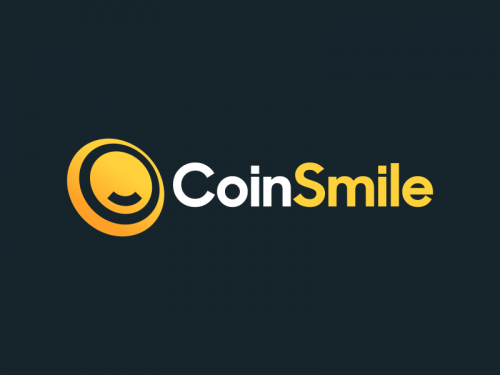 Coinsmile - Cryptocurrency company name for sale