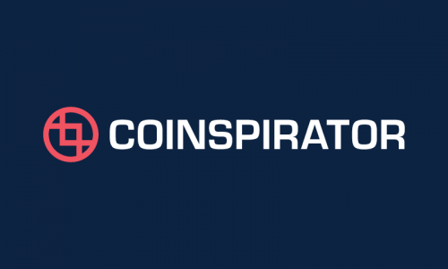 Coinspirator - Cryptocurrency domain name for sale