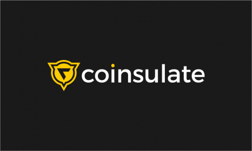 Coinsulate - Cryptocurrency brand name for sale