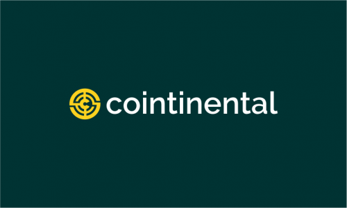 Cointinental - Finance company name for sale