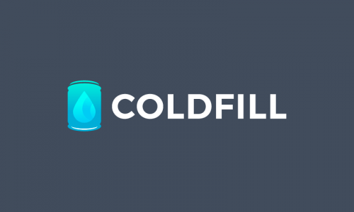 Coldfill - E-commerce startup name for sale