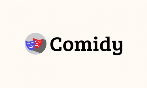 Comidy - Performing arts domain name for sale