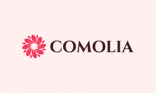Comolia - Retail startup name for sale