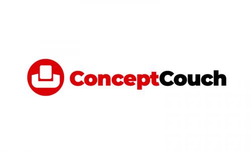 Conceptcouch - Interior design startup name for sale
