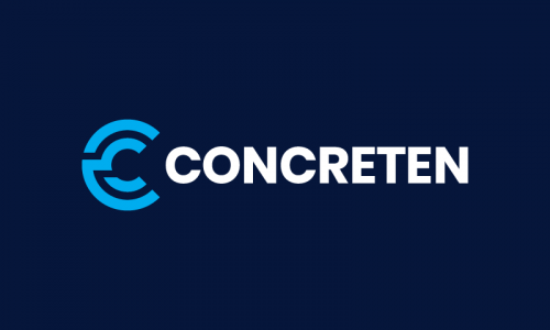 Concreten - Materials startup name for sale