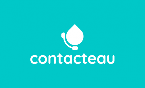 Contacteau - Social startup name for sale