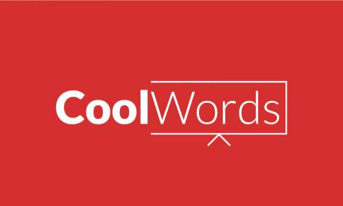 Coolwords - Media company name for sale