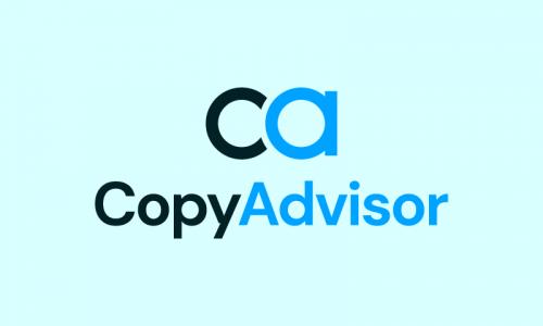 Copyadvisor - Writing product name for sale