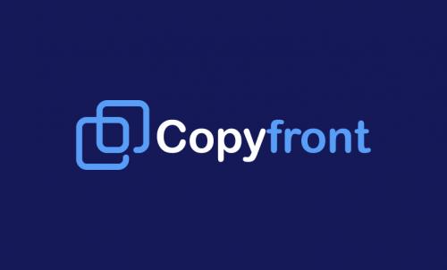 Copyfront - Business startup name for sale