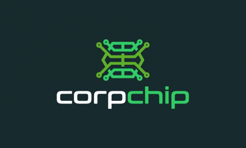 Corpchip - Medical devices startup name for sale