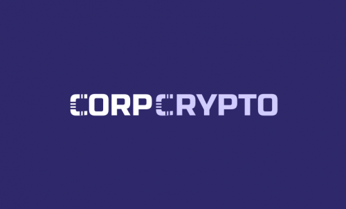Corpcrypto - Brand name for a company in cryptocurrency