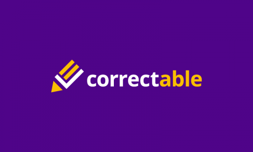 Correctable - Media domain name for sale