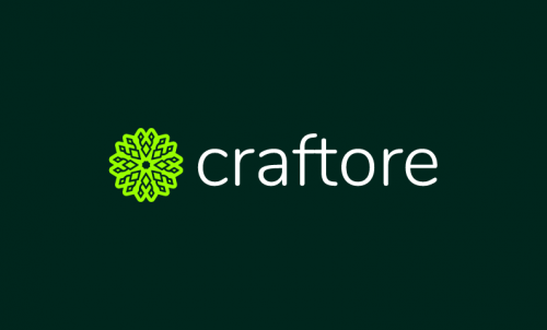Craftore - Crafts startup name for sale