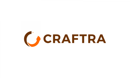 Craftra - Crafts company name for sale