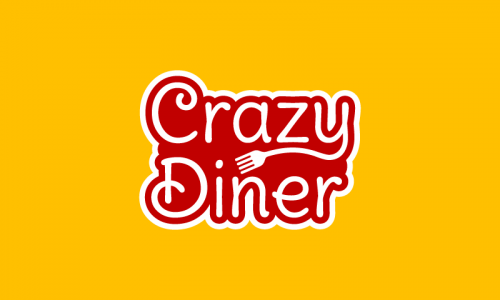 Crazydiner - Food and drink domain name for sale