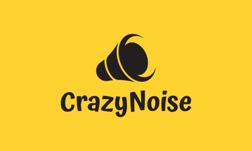 Crazynoise - Music company name for sale