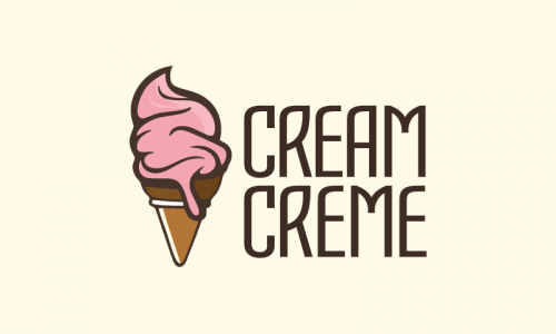 Creamcreme - Dining startup name for sale