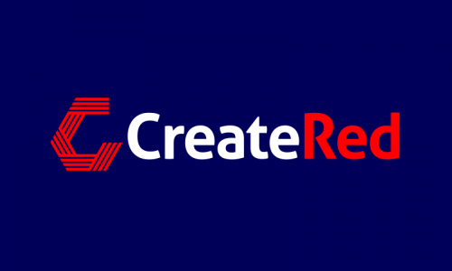 Createred - Approachable startup name for sale