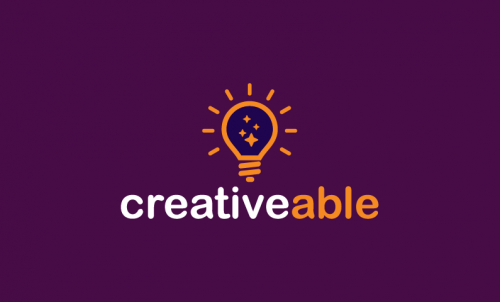 Creativeable - Media company name for sale