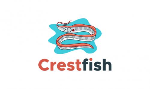 Crestfish - E-commerce startup name for sale