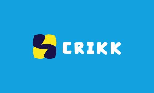 Crikk - Health domain name for sale